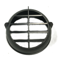 Air duct made of plastic OE60mm (round cap with grille)