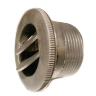 Air duct to air line D 75 mm black