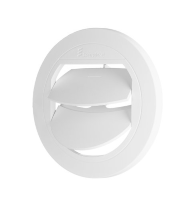 Deflector closing D 50/60 mm white