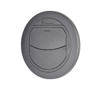 Air duct closing D50 / 60 mm black