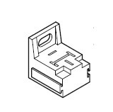 Plug connector for current converter